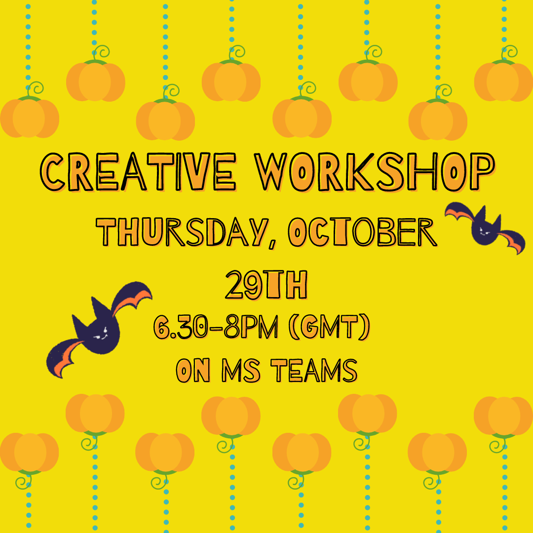 Come join us at our Halloween-themed creative workshop!
