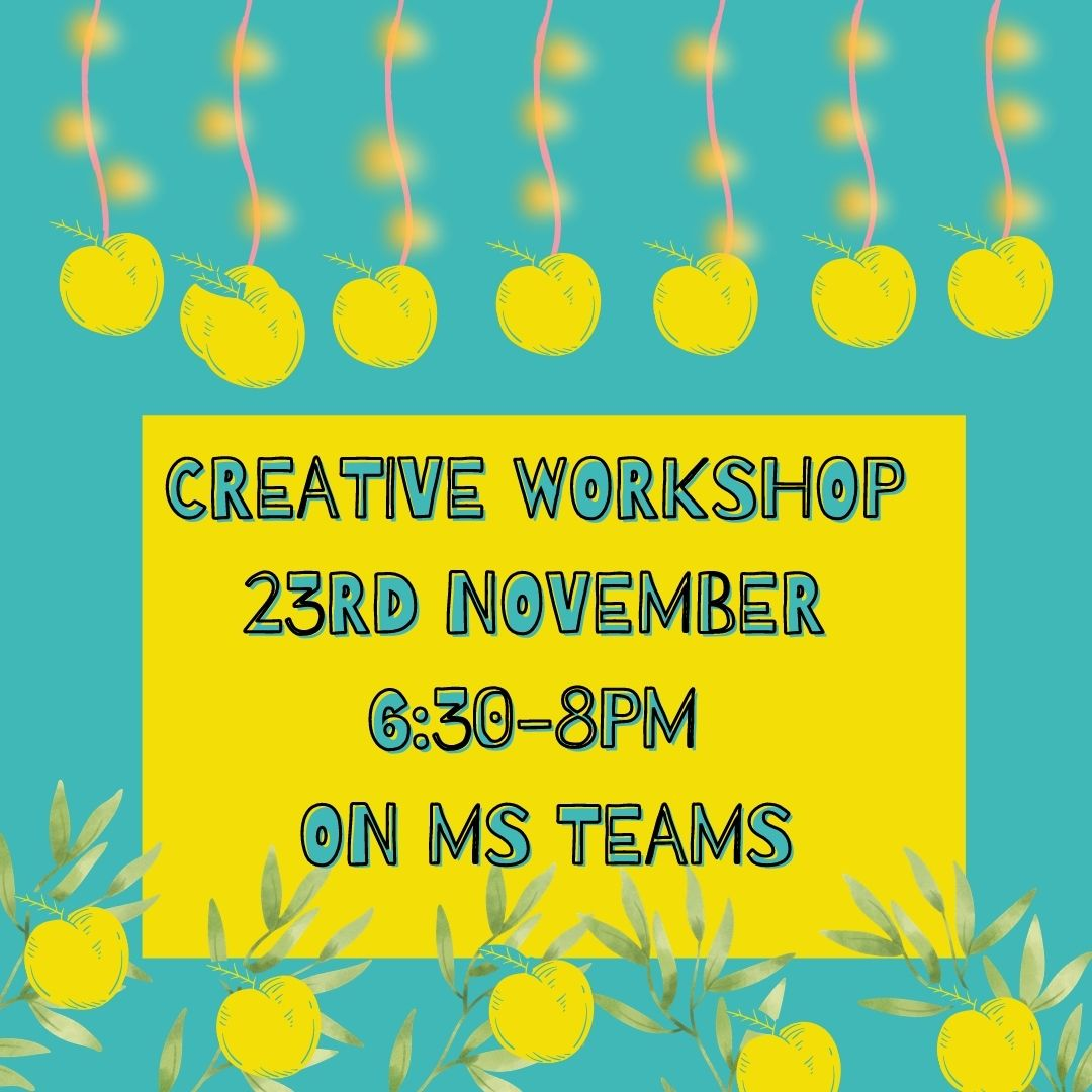 Come join us at our visual-arts inspired workshop!
