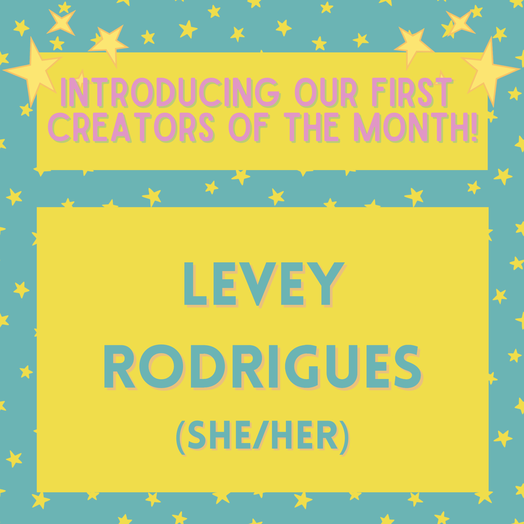 PEACH x QM Arts Society present: Creator of the Month – Levey Rodrigues