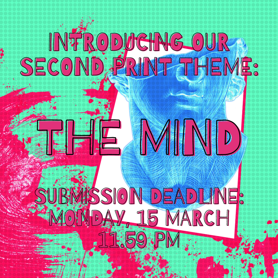 Submit to PEACH Magazine's second print-run: 'The Mind'