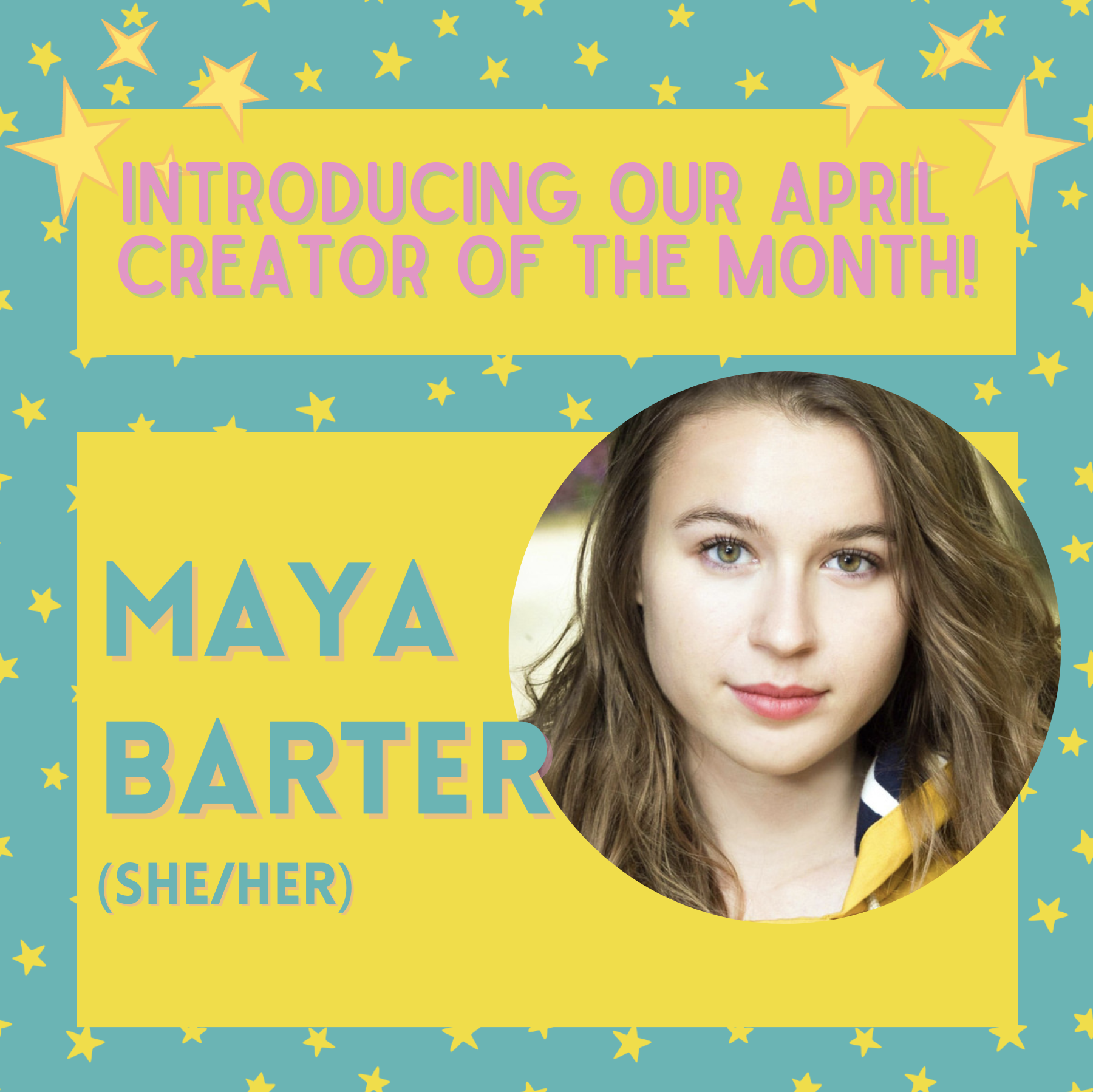 PEACH x QM Arts Society present: Creator of the Month – Maya Barter